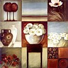 2010 Floral Montage I painting