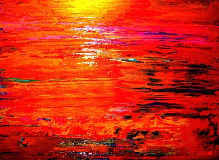 2011 Crimson and Gold Sunset