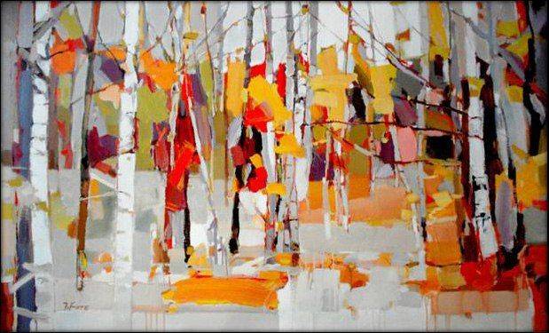 2011 Fall Birches
