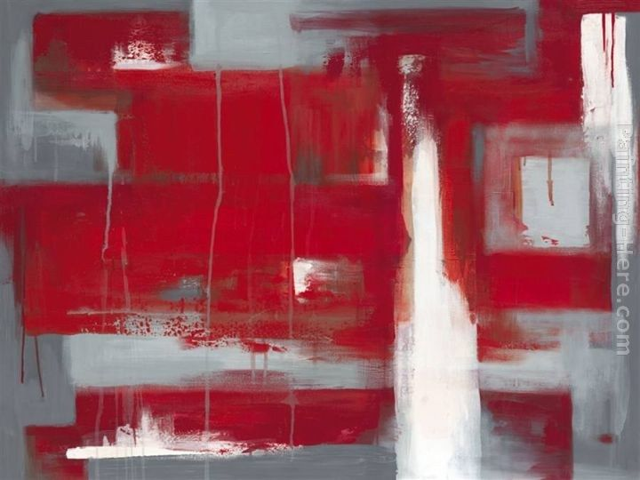 2011 Leigh Banks Red abstract