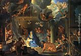 2011 Adoration of Shepherds Charles Lebrun painting