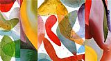 Abstract paintings - Cool Jazz by Peter Kitchell by 2011