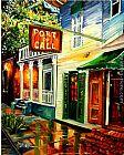 2011 Port of Call in New Orleans painting