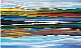 Abstract paintings - Serenity by 2011