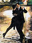 Tango paintings - Tango en Passion by 2011