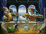 2011 michael cheval 2 painting