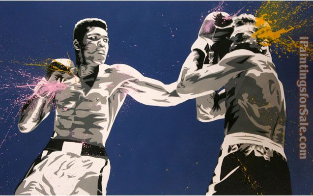 2012 muhammad ali pop art