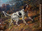 2012 English Setter with grouse painting