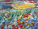 2012 Flower Field painting