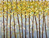 2012 Libby Smart Glistening Tree Tops painting