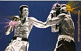2012 muhammad ali pop art painting