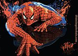 2012 spiderman painting