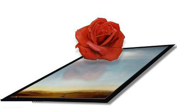 3d art Meditative Rose I