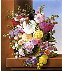 Adelheid Dietrich Still Life of Flowers painting