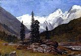 Albert Bierstadt Rocky Mountain painting