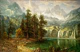Landscape paintings - Sierra Nevada by Albert Bierstadt