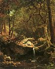 Albert Bierstadt The Mountain Brook painting
