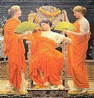 Albert Moore Midsummer painting