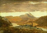 Alexander Helwig Wyant Mountain Vista painting