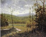 Alexander Helwig Wyant Quiet Stream_ Adironcack Mountains painting