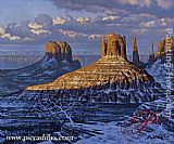 Alexei Butirskiy Monument Valley painting