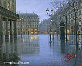 Alexei Butirskiy Place Vendome painting