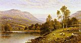 Alfred Glendening Early Evening, Cumbria painting