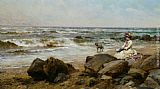 Alfred Glendening Far Away Thoughts painting