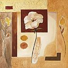 Alfred Gockel Rustic Flower Collage II painting