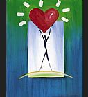 Alfred Gockel The Uplifted Heart painting