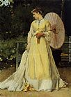 Alfred Stevens In the Country painting