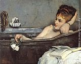 Alfred Stevens The Bath painting
