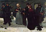 Alfred Stevens What is called Vagrancy painting