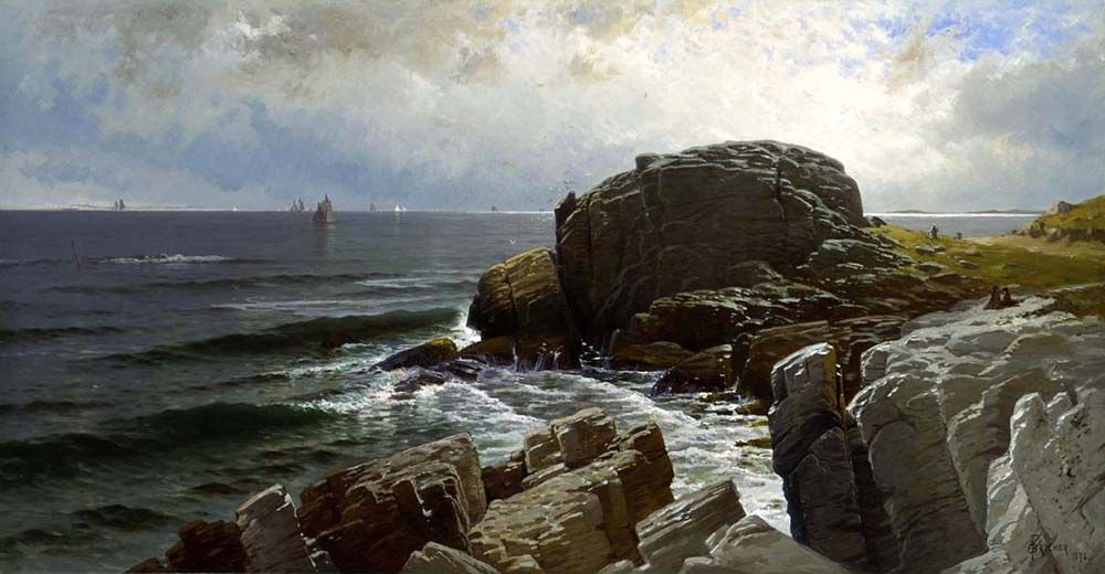 Alfred Thompson Bricher Castle Rock Marblehead