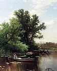 Alfred Thompson Bricher Drifting painting