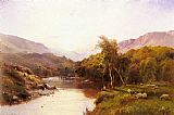 kerns river valley california Paintings - The Golden Valley