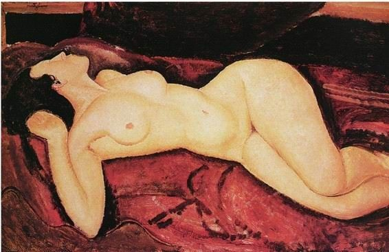Amedeo Modigliani Amedeo-Modigliani-oil-painting-am24