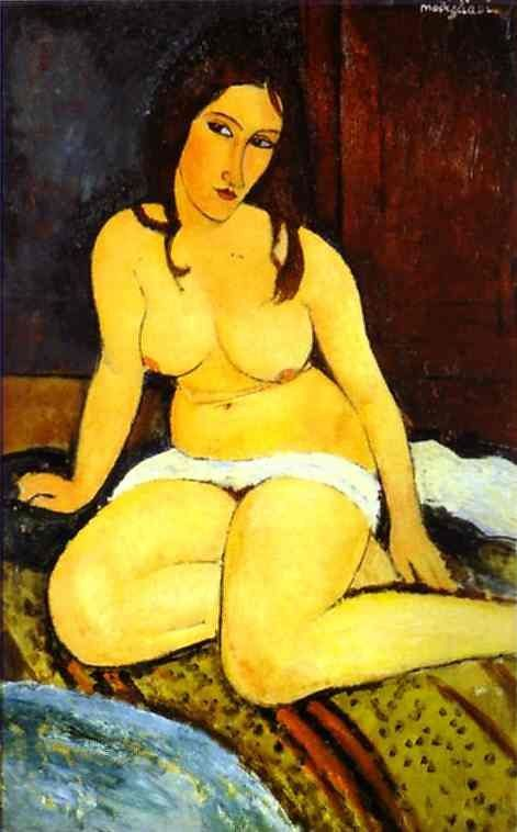 Amedeo Modigliani Seated Nude 1