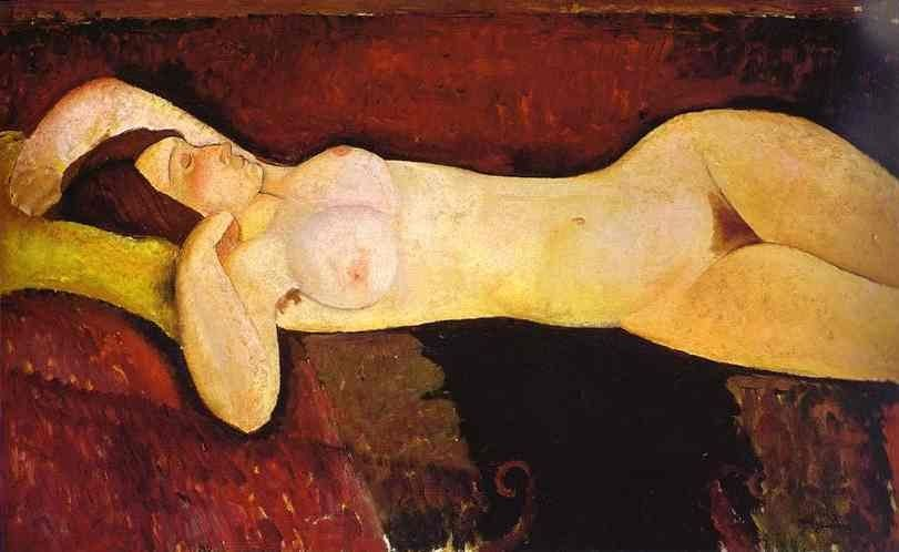 Amedeo Modigliani the Reclining Nude