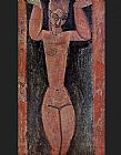 Amedeo Modigliani Caryatid 2 painting