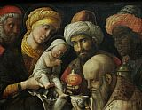 Andrea Mantegna Adoration of the Magi painting
