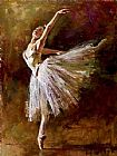 vincent van gogh Canvas Prints - Ballerina