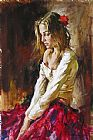 Andrew Atroshenko Contemplation painting