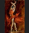vincent van gogh Canvas Prints - Fiery Dance