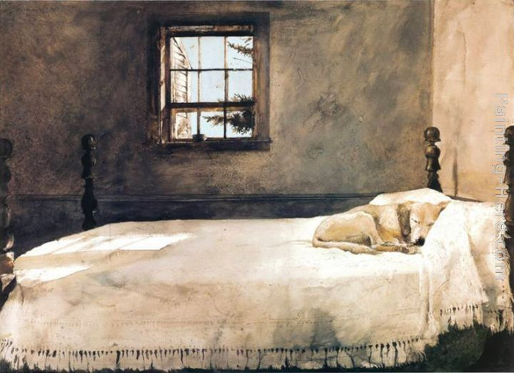Andrew Wyeth Paintings Andrew Wyeth Master Bedroom Painting
