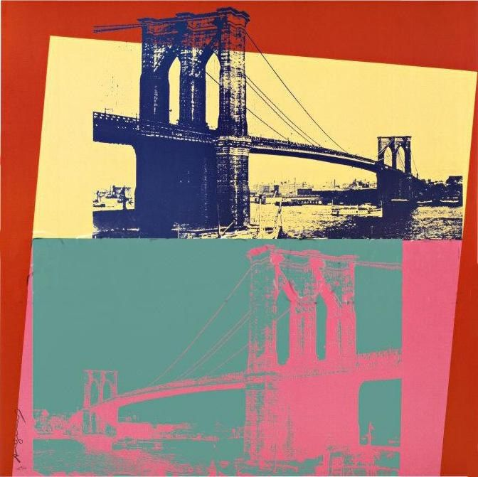 Andy Warhol Brooklyn Bridge