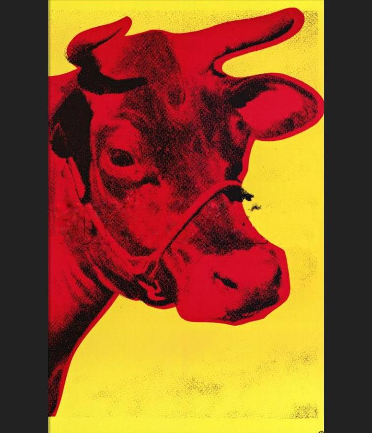 Andy Warhol Pink Cow