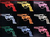 Still Life paintings - Gun 1982 by Andy Warhol