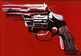 Still Life paintings - Guns by Andy Warhol