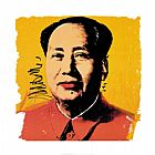 Andy Warhol Mao 1972 painting